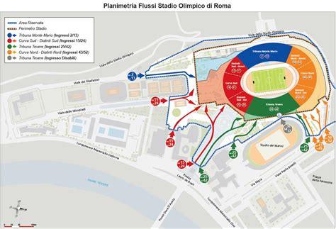Ingresso Tribuna Monte Mario by Sei Nazioni All Olimpico Il Vademecum Come Arrivare