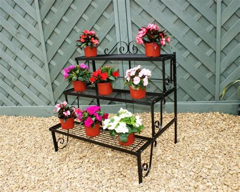 Outdoor Etagere Plant Stand by 3 Tier Garden Etagere Pot Stand Plant Theatre 163 89 99