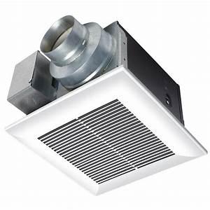 panasonic whisperceiling 80 cfm ceiling exhaust bath fan With panasonic bathroom fans home depot