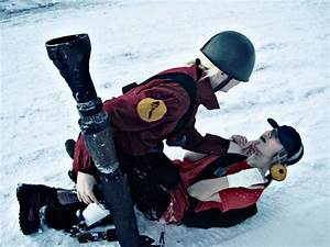 Team Fortress 2 Soldier and Scout Cosplay by Tinderboxer ...