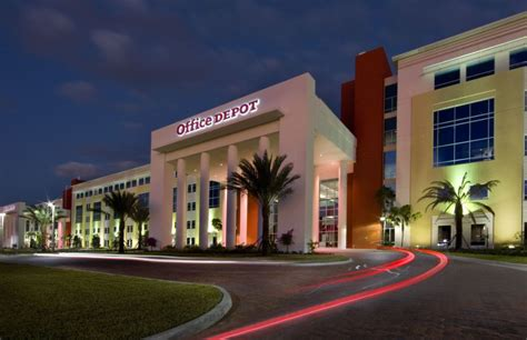 Office Depot Hours Boca Raton by Office Depot World Headquarters Leed Gold Certified Project