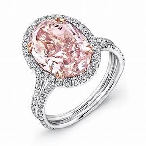 Pink diamond rings wedding promise diamond engagement for Pink diamond wedding rings