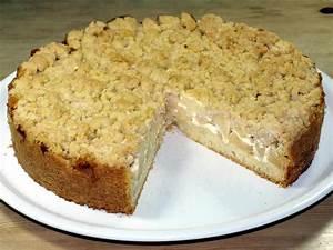 Birnenkuchen Mit Quark : apfelkuchen mit streusel rezept einfacher m rbeteig schmand und rosinen ~ Watch28wear.com Haus und Dekorationen