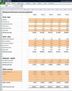 Restaurant Business Revenue Projection | Plan Projections
