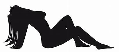 Clipart Silhouette Nudity Nude Woman Female Clip