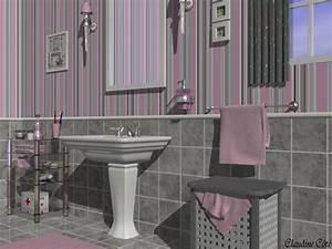 Deco Salle De Bain Gris : le classement des 6 plus jolies d cos salle de bain gris et rose ~ Farleysfitness.com Idées de Décoration