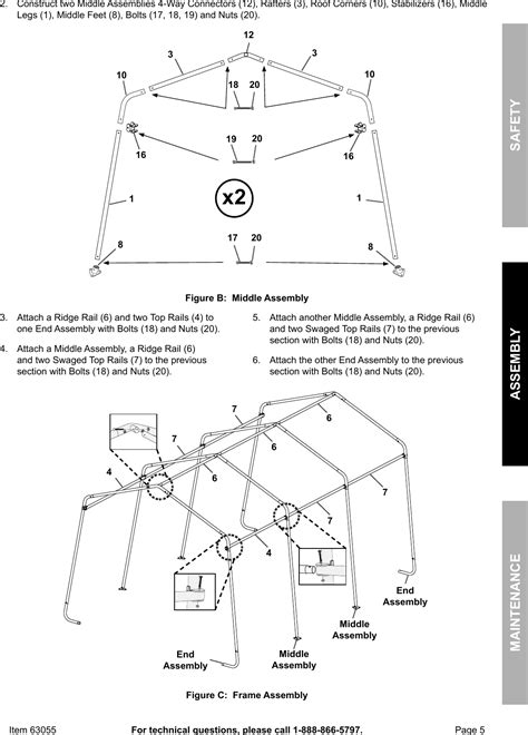 coverpro  assembly instructions coverall carport instructions carports garages