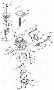 Polaris Atv 1997 Oem Parts Diagram For Carburetor Xplorer