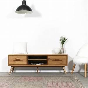 Meuble Tv Vintage : meuble tv vintage les 30 mod les les plus pris s en 2018 ~ Teatrodelosmanantiales.com Idées de Décoration