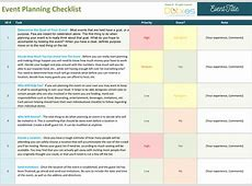 Event Planning Checklist to Keep Your Event On Track