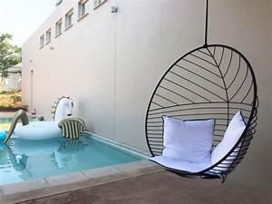 Fauteuil Suspendu Noir : fauteuil suspendu noir design moderne ~ Teatrodelosmanantiales.com Idées de Décoration