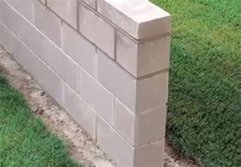 How To Build A Cinder Block Wall  Bob Vila