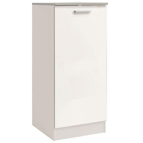 demi armoire cuisine demi armoire de cuisine 60cm quot shiny quot blanc