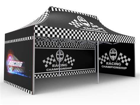 custom pop  canopy tent double sided full backwall   double sided full sidewalls