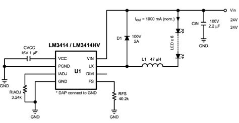 Constant Current Source Ful Leds Using Circuit