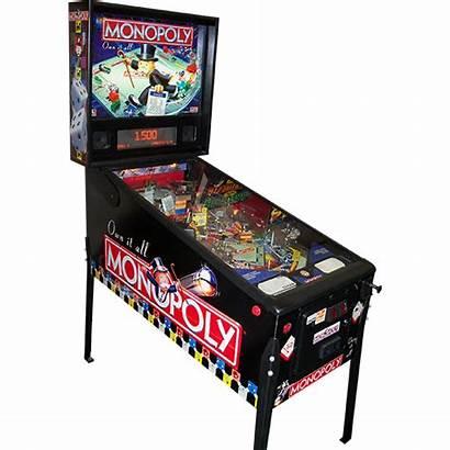 Monopoly Pinball Machine Board Selling Sold