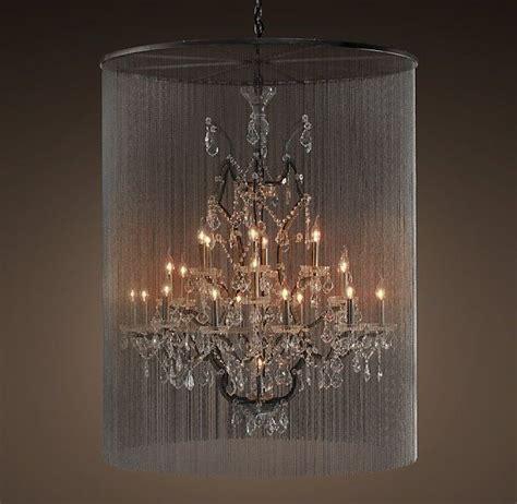 vaille crystal chandelier extra large restorationhardware pinterest ball chain lighting