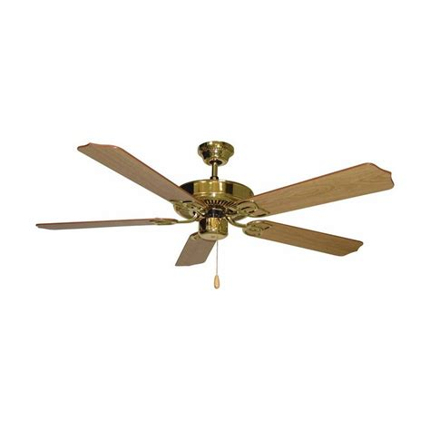 ceiling fan requirements shop volume international minster 52 in polished brass