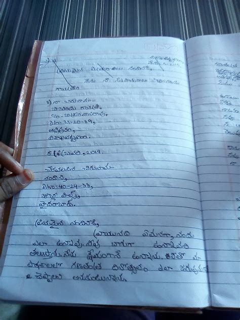 letter writing  friend  telugu brainlyin