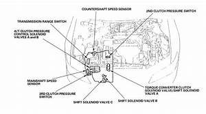 Shift Solenoid Location 2002 Accord