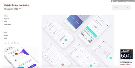 Mobile Web Design Inspiration by 22 Web Design Inspiration Resources You Ll Webflow