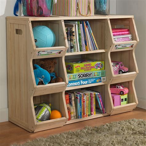 Child Bookcase Storage by Merry Products Slf0031901910 Children S Bookshelf Cubby