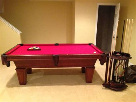 american heritage pool table for sale american heritage billiards pool table used pool tables