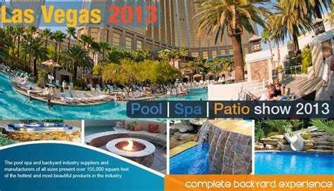 2013 international pool spa and patio expo swimming pool