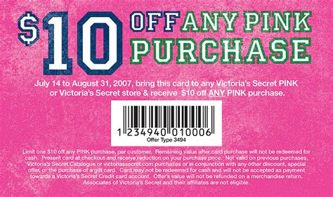 01217 Free Secret Coupons In The Mail by Pink Coupons Coupon Valid