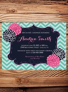 Baby Shower Invitation Flowers Baby Shower Invitation