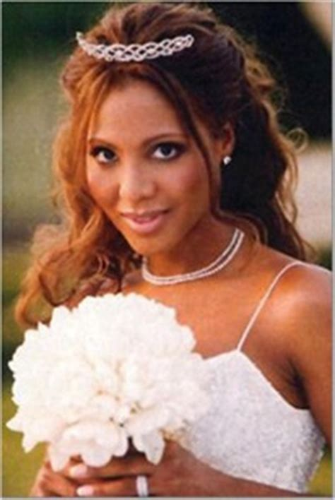 black bridal hair styles toni braxton wedding jpg 4607