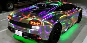 Japanese Lamborghini With Custom LED Lighting