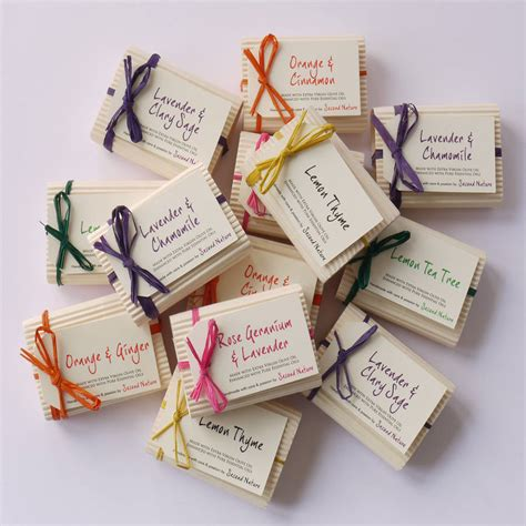 the shop gift kit tea tree mini handmade soaps by second nature soaps