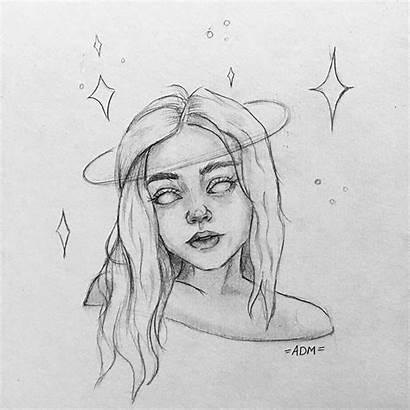 Drawings Drawing Easy Pencil Aesthetic Sketches Sketchbook