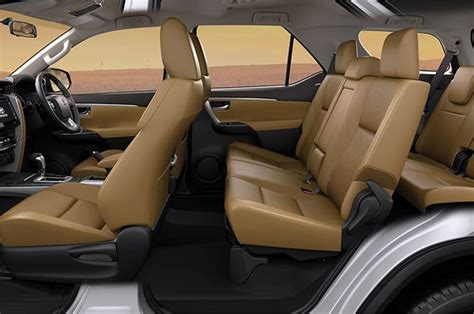 toyota innova fortuner  updated interior  india