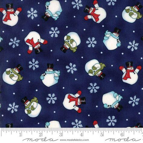 Item 19803 12 Moda Fabrics Snow Much Fun Collection By Deb