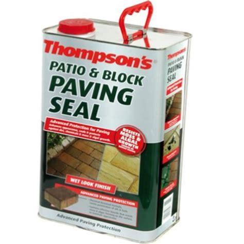 thompsons patio block paving seal 5ltr wholesalers