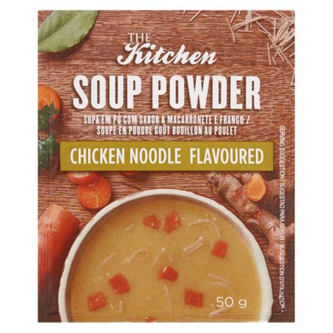 kitchen chicken noodle flavoured soup powder