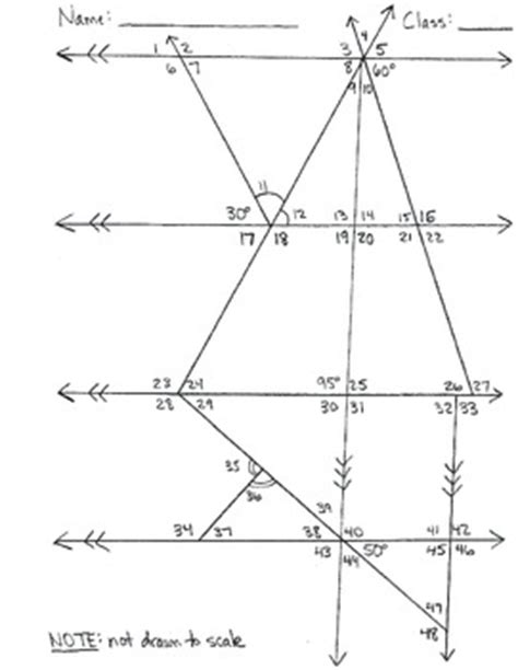 determine missing angle measures worksheets by haude