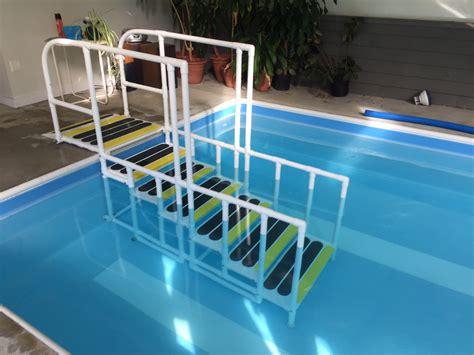 aquatrek  slip  walking pool ladder system