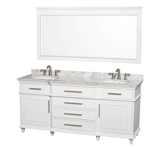 wyndham collection berkeley 72 in double vanity in white