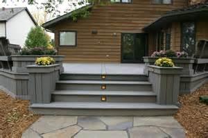 Wide Deck Steps