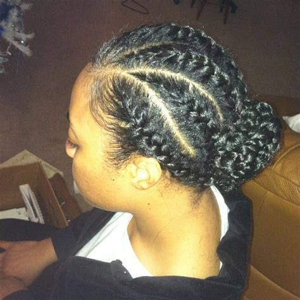 flat braids style hair stylez pinterest