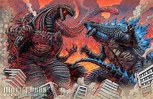 Shin Godzilla, Legendary Godzilla vs Earth Godzilla ...