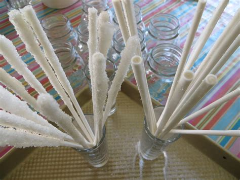 how to make rock on a stick rock candy 171 the kitchen pantry scientist