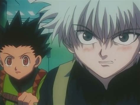 Killua 1999 Blush Cute Killua Hunter X Hunter Anime