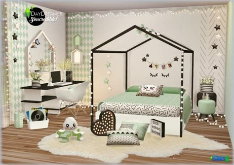 simcredible designs day dream kids room sims  downloads