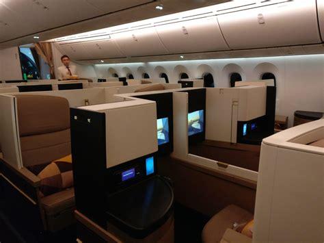 dreamliner cabin review etihad airways business class boeing 787