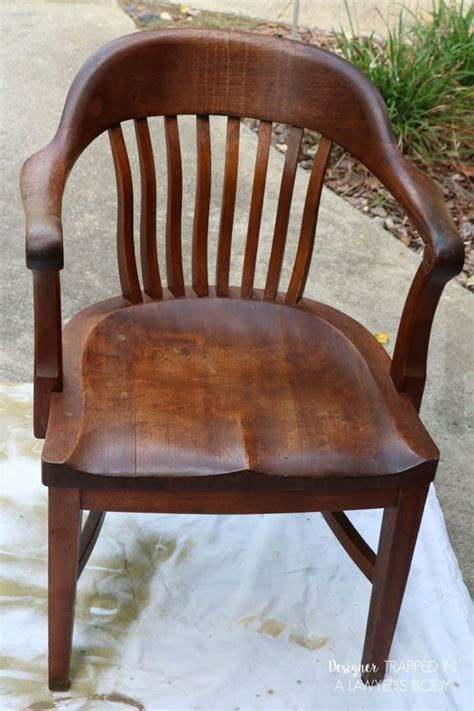 refinish wood chairs  easy  designer trapped