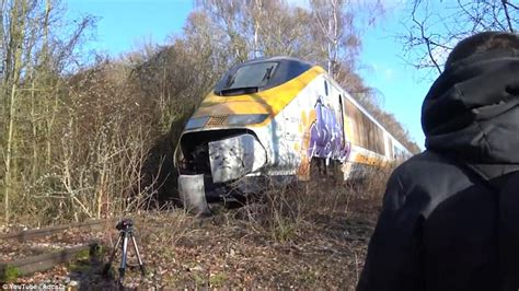 spooky abandoned eurostar daily mail